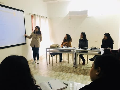 Workshop on Blogging by Sania Gupta